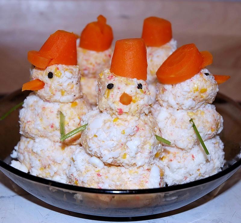 Вкусные салаты и закуски к новому году